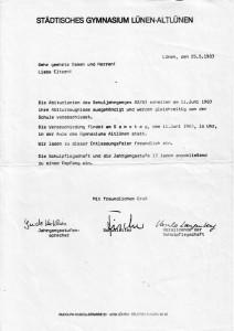 Einladung Juni 1983