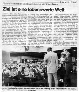 Ruhrnachrichten 13.Juni 1983