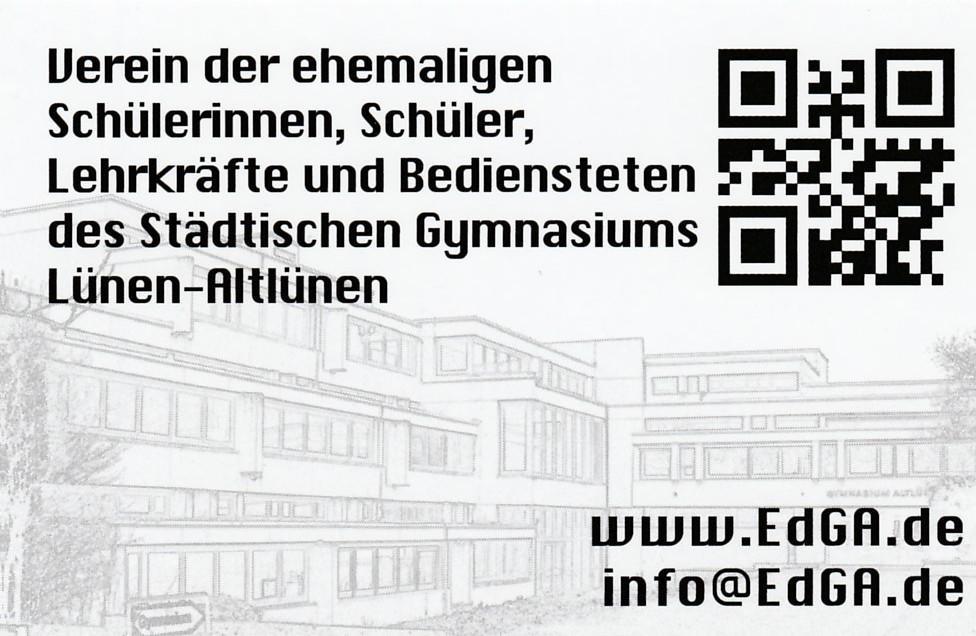 EdGA-Visitenkarte - Rückseite