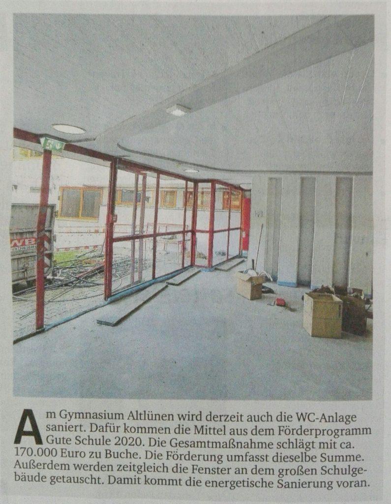 Beitrag aus den RuhrNachrichten vom 13.8.2019